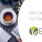 Self-care tips for teachers blog image
