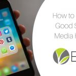 social media habits blog post image