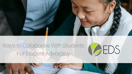 ways to collaborate with students for student advocacy blog post image